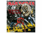 IRON MAIDEN - OFFICIAL STICKER logo eddie killers trooper flight 666 stickers