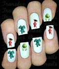 30 MONSTER INC NAIL ART DECALS STICKERS/TRANSFERS PARTY FAVORS MIX & MATCH