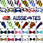 DUAL COLOUR STRIPED TIES - Bow Skinny Slim Boys Pocket Square and Stripes Mens
