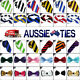 DUAL COLOUR STRIPED TIES - Bow S...