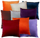 EM Plain Color Cotton Blend Shimmer Velvet Style Cushion Cover/Pillow Case Size