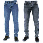 BNWT New Mens Enzo Designer Skinny Stretch Chinos Jeans Pants Waist Size 28-40