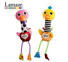 Lamaze Cheery Chirpers Soft Ostrich, Flamingo Baby Toy (0 Months +)