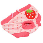 Small Female Sanitary Dog Undie Underpants Diaper Pants Strawberry - S M L