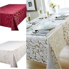 Cady Quality Damask Kitchen Dining Table Cloth Or Place Mats, Table Runner