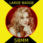 Sharon Stone 3 - 58MM - FRIDGE MAGNET OR BADGE OR HANDBAG MIRROR #CD1245