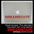 Dreamscape 'The standard has been set' laptop sticker Old Skool Rave Jungle