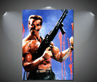 Commando Arnold Schwarzenegger Vintage Movie Poster - A1, A2, A3, A4 sizes