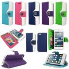 For Apple iphone 5 5S 5G PU Leather Wallet Flip Pocket Card Cover Case Pouch new