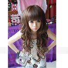 Fashion Wig Women's New Lady Style Wavy Long Curly Cosplay Girl Hair Full Wigs