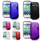 NEW SAMSUNG GALAXY FAME S6810 GEL CASE + FREE SCREEN PROTECTOR