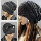New Unisex Mens Womens Knit Winter Hat Beret Skull Beanie Cap Ski Knitted Hat