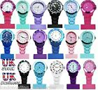 NURSE RUBBERISED PLASTIC & PLASTIC ANALOGUE NURSES FOB WATCH. UK SELLER.