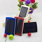 10000mAh solar Panel charger power bank Battery for iPhone 4 4S 5 Samsung 4Color