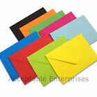 100 C5 Coloured Envelopes for Greeting Cards 100gsm ALL COLOURS