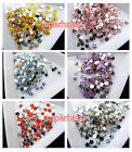 1000 FLOWER Rhinestones Nail Art Tips Cards Flat Back More Colours Creative Deco