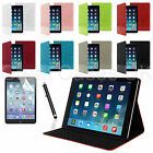 PU LEATHER SMART CROCODILE STYLE CASE COVER FOR NEW APPLE IPAD AIR +GUARD STYLUS