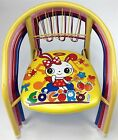 Childrens Chair Metal Frame Squeaky Various Colours Designs Sturdy Kids Home