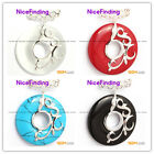 nicefinding new 37mm ring beads silver pendant 37mmx49mm FREE gift box +chain