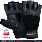New Weight Lifting Gloves Body Building Gym Fitness Workout Wrist Straps M,L,XL