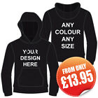 Personalised hoodie, hoody, hooded sweatshirt