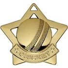 AM725 MINI STAR CRICKET METAL MEDAL AND FREE RIBBON