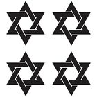 CUSTOM JEWISH STAR OF DAVID RELIGIOUS CAR WINDOW VINYL DECAL STICKER (DS-01)