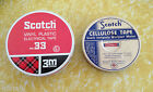 Vintage Scotch Brand Tape Tins ea. Sold Separate