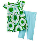Carters Newborn 6 24 Months Floral Top & Leggings Set Baby Girl Clothes Outfit