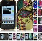 For Huawei Inspira H867G Prism 2 II U8686 Glory Hard Design Cover Case + LCD