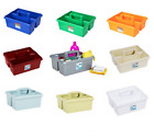 PLASTIC KITCHEN/HOME CLEANING UTILITY ORGANIZER/STORAGE BOX TIDY/CUTLERY/HOLDER~