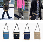 New Men Vintage Casual Canvas Cross Body Messenger Unisex Satchel Shoulder Bag