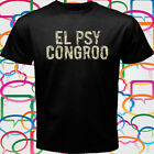 New Steins Gate El Psy Congroo Anime Men's Black T-Shirt Size S-3XL