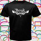 New Dethklok Metal Band Logo Men's Black T-Shirt Size S to 3XL