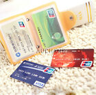 Pocket Business Credit Card Bag ID-card Holder & Mini Wallet PVC Leather Bag