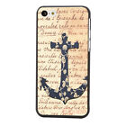New Fashion Cute Anchor Hard Plastic Back Case Cover Skin For iPhone 5C