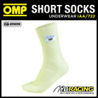 IAA/722 OMP KNITTED NOMEX RACING FIREPROOF SOCKS CREAM - 4 DIFFERENT SIZES OMP