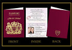 PERSONALISED WEDDING INVITATIONS-PASSPORT-ABROAD-BEACH-SAMPLE AVAILABLE