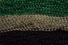 FALCONS RED SILVER BLACK SUPER BOWL MARDI GRAS BEADS/PARTY FAVOR 36 72 144 180