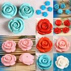 Red/Pink/Orange/Blue/White Coral Floral Flower Rose Loose Beads Jewelry Finding