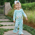 Mud Pie Easter Turquoise Little Chick One Piece #1132101 Size 3M-12M NWT
