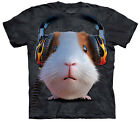 Dj Guinea Pig Adult  Animals Unisex T Shirt The Mountain
