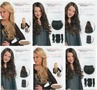 Ladies Curly heat resistant KOKO Synthetic Quick Fit Hair Extensions Weft Clip