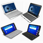 "Portable Slim Bluetooth Keyboard Stand For Samsung Galaxy Tab 3 10.1"" & 8"""