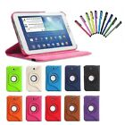 "360 Rotating Leather Hard Case Cover For Samsung Galaxy Tab 3 7.0"" Tablet"