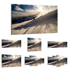 47 Shapes Canvas Picture Print Wall Art  Winter Snow Mountains Ski Sport 0511 E