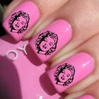 Marilyn Monroe Decals Manicure Water Transfer Celebrity Style Nails Art 3 #064