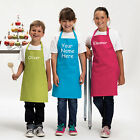 Children's Personalised Cooking & Craft Apron for Kids Custom Gift Idea £10