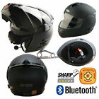 VIPER RS-V131 BLUETOOTH4 DVS Flip Up Motorbike Motorcycle Helmet ACU Matt Black