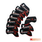 Iron Club Covers 10pcs for Ping Callaway Taylormade Titleist match golf bag